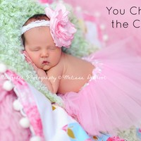 Newborn Baby Tutu Photography Prop - You Choose the Color