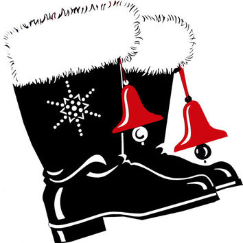 christmas cowboy boots clipart png clip art country christmas digital clipart download printable western country christmas printable