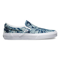 Indigo Tropical Slip-On | Shop Womens Shoes at Vans