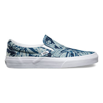 Indigo Tropical Slip-On | Shop at Vans
