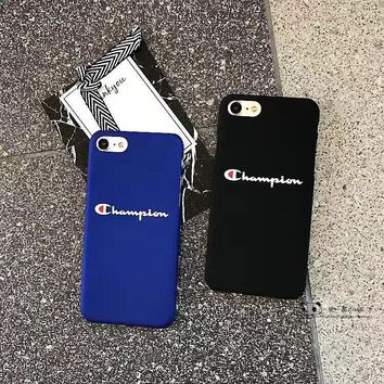 Champion:2017 Hot ! iPhone 7 iPhone 7 plus - Stylish Cute On Sale Hot Deal Apple Matte Couple Phone Case For iphone 6 6s 6plus 6s plus