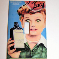 Light Switch Cover - Light Switch Plate I Love Lucy