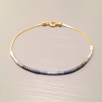 Simple Delicate Bracelet delicate bead Bracelet gold chain bracelet simple bracelet gold dainty jewelry