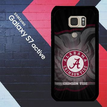 Alabama Crimson Tide G0099 Samsung Galaxy S7 Active Case