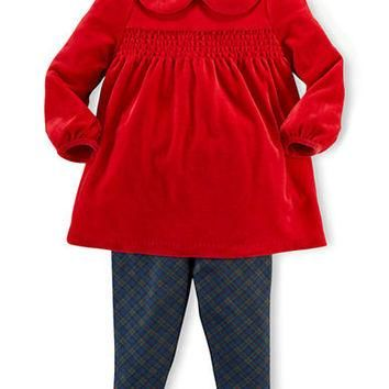 Ralph Lauren Childrenswear Baby Girls Tunic and Leggings Set