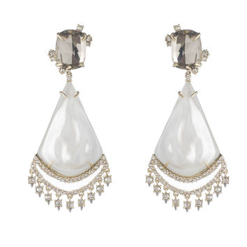 Crystal Lace Chandelier Earring | Alexis Bittar