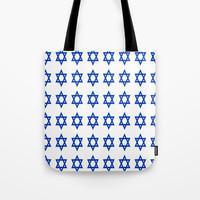 Star of David Tote Bag by oldking