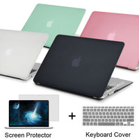 New Transparent Case For Apple macbook Air 11.6 13.3/ Pro 13.3 15.4 Pro Retina 13 15 inch Protector For Mac book