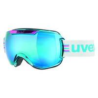 Uvex Downhill 2000 Race Chrome Goggle Pink-Cobalt Chrome, One
