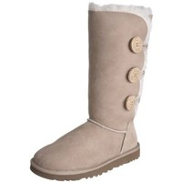 UGG Australia Women's Bailey Button Triplet Sand Sheepskin Boot 5 M US