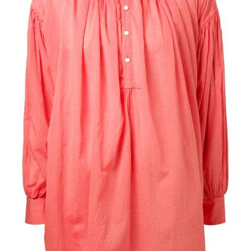 Arts & Science pleated blouse