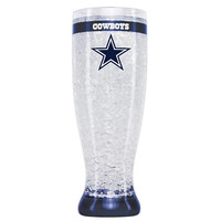 16Oz Crystal Freezer Pilsner NFL - Dallas Cowboys