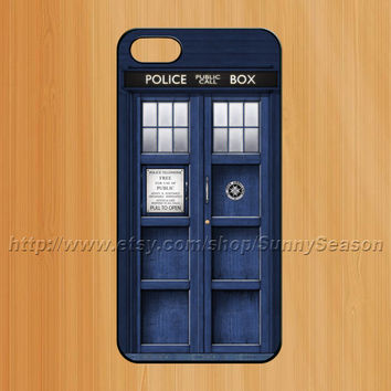 Tardis Doctor who iPhone 5 case, iPhone 5 hard case cover, Tardis, Police Box Dr Who cover skin case for iphone 5 cases