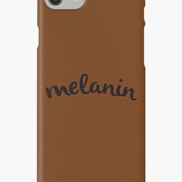 'Melanin' iPhone Case/Skin by thepaperlady