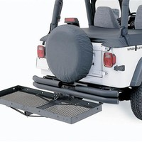 "All Things Jeep - Receiver Rack 20"" x 60"" - 500 lb Rating - Fits Vehicles with 2 inch Receivers - by Smittybilt"
