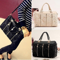 Women's Handbag Oblique Carry Casual Big Bag Retro Lace Bags 3890 = 1713302020