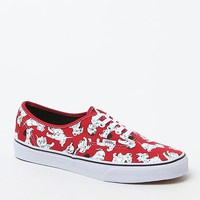 Vans - Disney Authentic 101 Dalmatians Shoes - Mens Shoes - Red