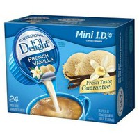 International Delight Creamer Singles French Vanilla 24 ct : Target