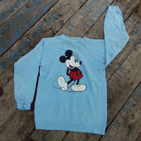 Mickey Mouse Sweatshirt Disney hipster vintage retro design