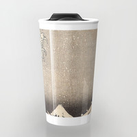 Hokusai the wave 1-hokusai,manga,fugi,japan,kanagawa,wave,edo,mount fuji Travel Mug by oldking