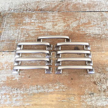 Drawer Handles 9 Drawer Pulls Stainless Drawer Handles Dresser Handles Cabinet Drawer Handles Silver Handles Home Improvement Unique Handles