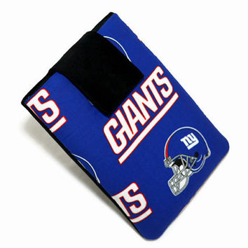 HandCrafted, Tablet Case, New York, Giants, iPad Case, iPad Mini Case, Kindle Fire Case,  NFL, 7, 8, 9, 10 inch ,  FOAM Padding, Gift