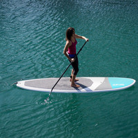 "SUP USA 10'6"" Island Stand Up Paddle Board Bundle - Blue"