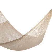 Big Sur Rope Hammock, Off-White, Outdoor Hammocks