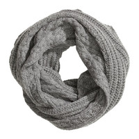 Wool-blend Tube Scarf - from H&M