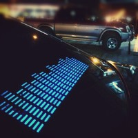 Music Activated LED Equalizer Car Sticker