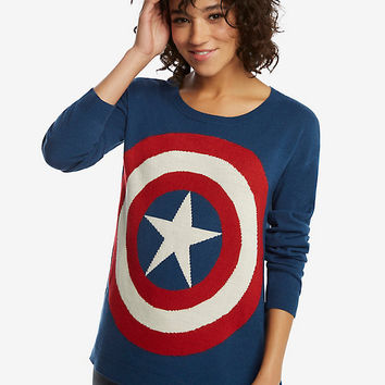 Marvel Captain America Shield Sweater