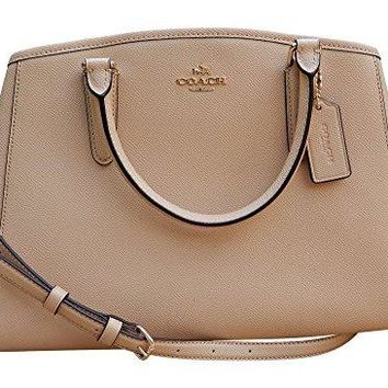 Coach Crossgrain Leather Small Margot Carryall Shoulder Bag Handbag