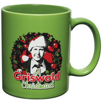Christmas Vacation - Griswold Wreath Green Coffee Mug