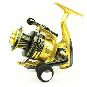 NEW Fishing Spinning  Reel 1000-7000  series 13+1Bearing Balls wire cup All metal  rocker arm Super Strong spinning reel  Carp