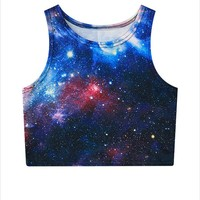 Universe, Space All Over Print Women Tank Top