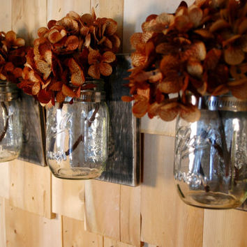 Basic Beautiful Black 3 pc. wall decor collection with clear jars