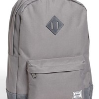 Herschel Supply Co. 'Heritage Plus' Leather Trim Backpack | Nordstrom
