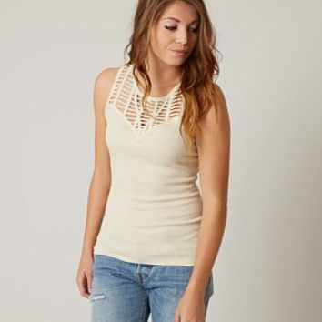 GIMMICKS RIBBED TANK TOP