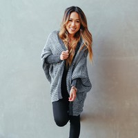 By The Fire Knit Cardigan