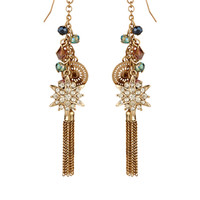 Helena Charm Earrings | Gold | Accessorize