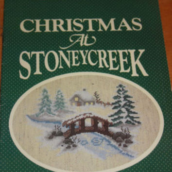 Stoney Creek Collection Christmas at Stoneycreek Book 5 Cross Stitch Patterns