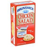 Brunswick Chicken Salad with Crackers, 3-oz. Kits