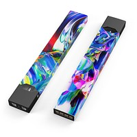 Skin Decal Kit for the Pax JUUL - Blurred Abstract Flow V21