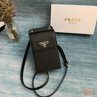 952 Prada Leather Fashion Mini Crossbody Bag 17-10