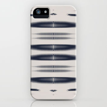 Almost Cozy glitch iPhone Case by duckyb