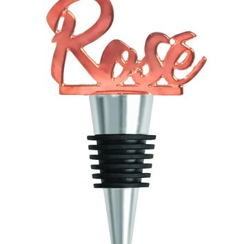 Rosé Wine Bottle Stopper
