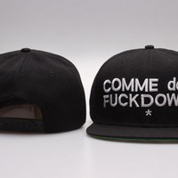 Perfect COMME DES FUCKDOW hats Women Men Embroidery Sports Sun Hat Baseball Cap Hat