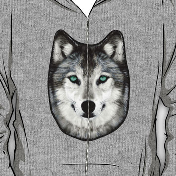 Dan Smith's Wolf hoodie Hoodie (Zipper)