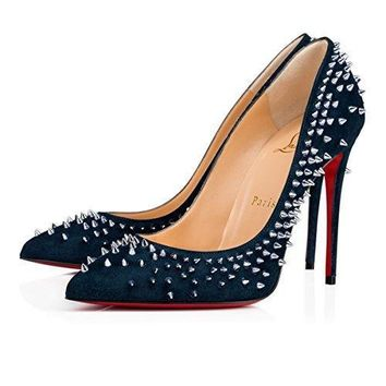 Christian_ Louboutin Womens Escarpic rose thorns sandals