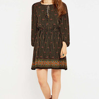 Staring at Stars Border Boho Print Dress - Urban Outfitters